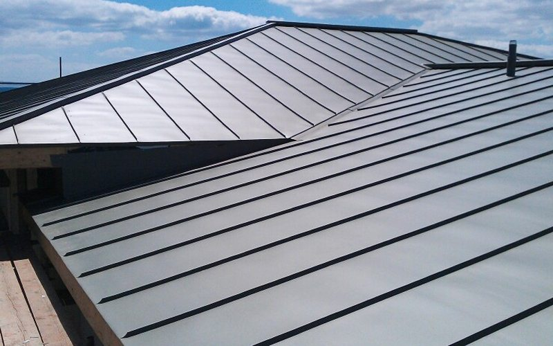 Zinc roofing copper roofing and metal sheet roofing in cornwall