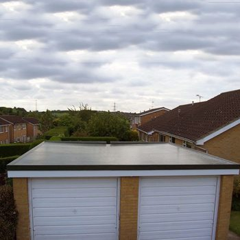 Flat Roofing For Garages
